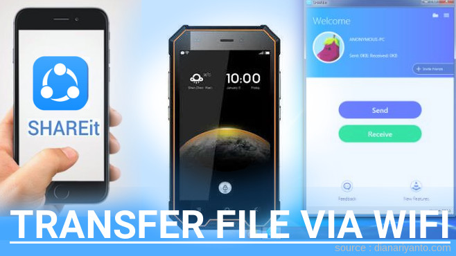 Tutorial Transfer File via Wifi di Blackview BV4000 Menggunakan ShareIt Versi Baru